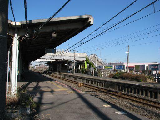 JR内房線 巌根駅 ホーム全景