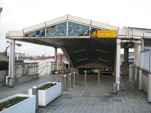 JR内房線 長浦駅 南口(駐輪場から)