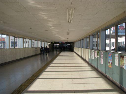 JR内房線 五井駅 改札外通路