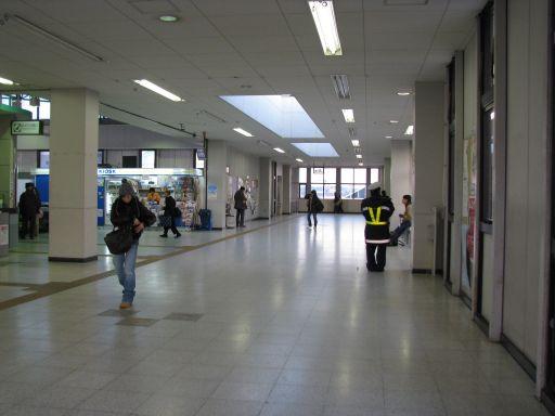 JR内房線 八幡宿駅 改札外