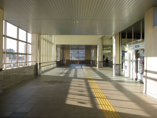 JR内房線 浜野駅 改札外通路