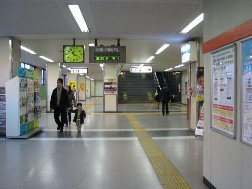JR外房線 本千葉駅 改札内