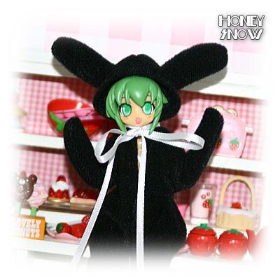 1/6DOLL 【アニマルスーツ】 ウサギ☆ブラック