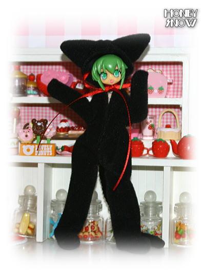 1/12DOLL 【アニマルスーツ】 黒猫