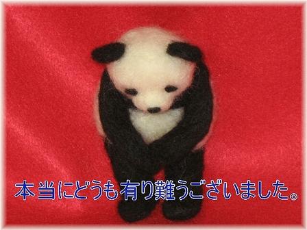 ありがとうパンダ
