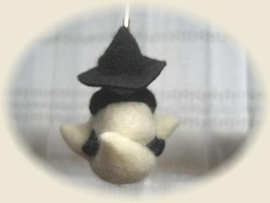羊毛フェルトのハロウィン その1