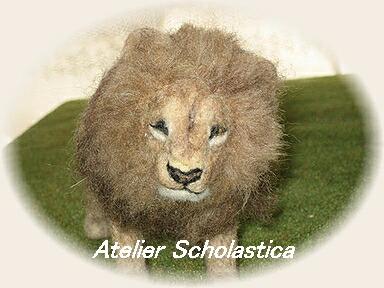 羊毛フェルト☆ライオン