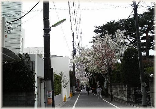 成城学園駅住宅街