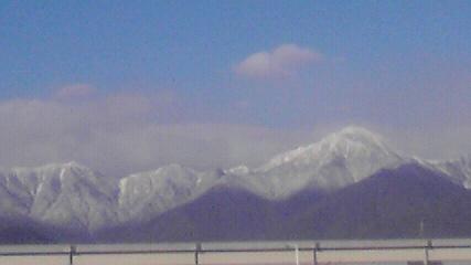 常念岳20101102