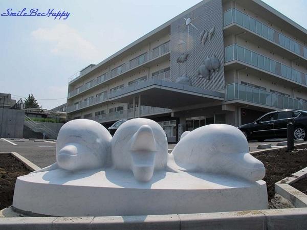 大理石イルカp1s