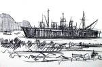 座礁船表紙絵