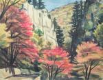 紅葉の神戸岩