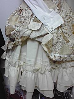 茶色裾スカラップ1