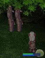 木陰であいびk・・・