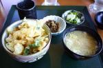 白エビかき揚丼(ミニのセット)