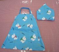 エプロンと三角巾(幼稚園サイズ)