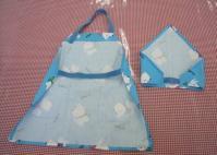 エプロンと三角巾(バッグスタイル)