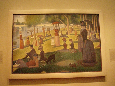 s-Seurat-A Sunday on La Grande Jatte