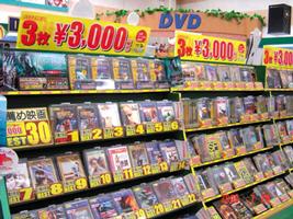 DVDコーナー