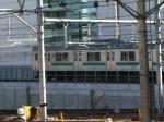 埼京線の205系。 変な写真ですいません。