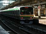 E231系1000番台 東京にて これからの主役です。