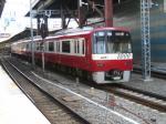 京急1000系。 横浜駅にて。