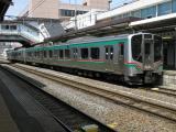 今回初乗車のE721系。