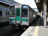 701系黒磯行き。