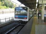 209系、上野にて。