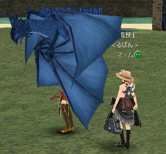 青い竜23