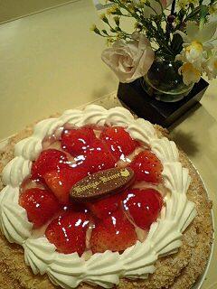 お土産のケーキです♪