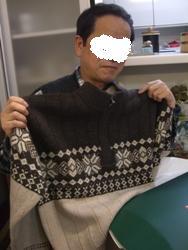12月23日セーター