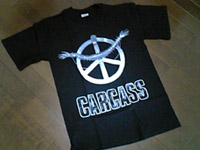 CARCASS  Heart Works T-シャツ 表