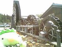 荘川の五連水車