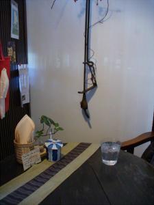 カフェ「月光」店内