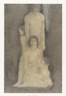 高山辰雄 森1985年
