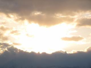 山じゃなくて雲だし。。。