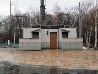 道道966号美沢線のトイレ~