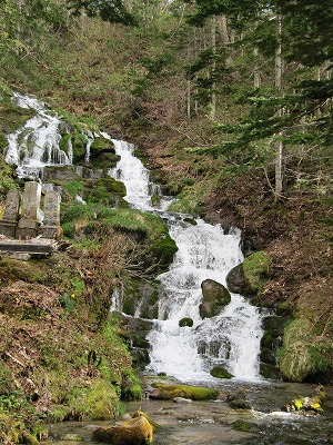 不動の滝。