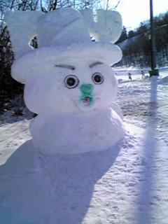 雪像チョッパー