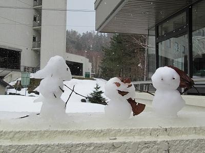 s-雪だるま。