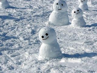s-ちび雪だるま