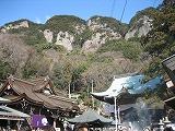 八栗寺からの五剣山