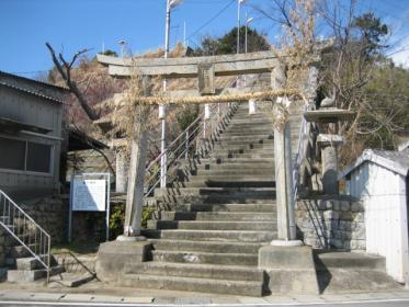 皇子神社鳥居