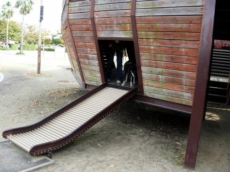 プチローラー滑り台