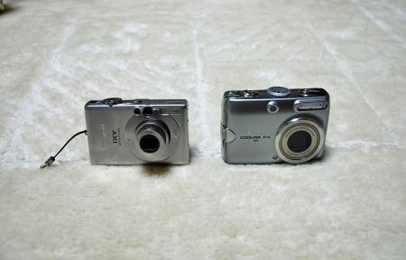 歴代カメラ達