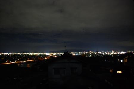 我が家からの市内全景