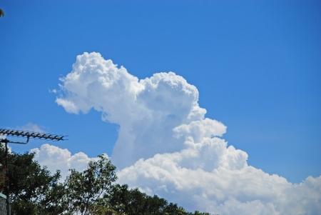 今となっては懐かしい雲のかたち