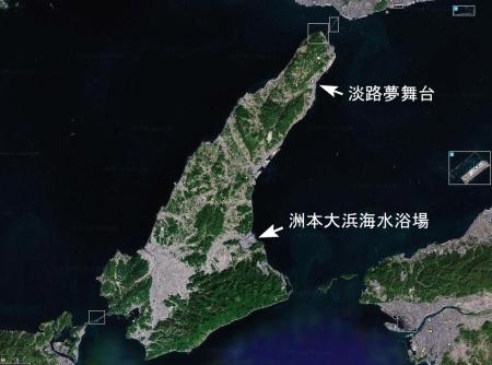淡路島 by wikimappia