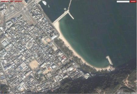 大浜海水浴場 by wikimapia